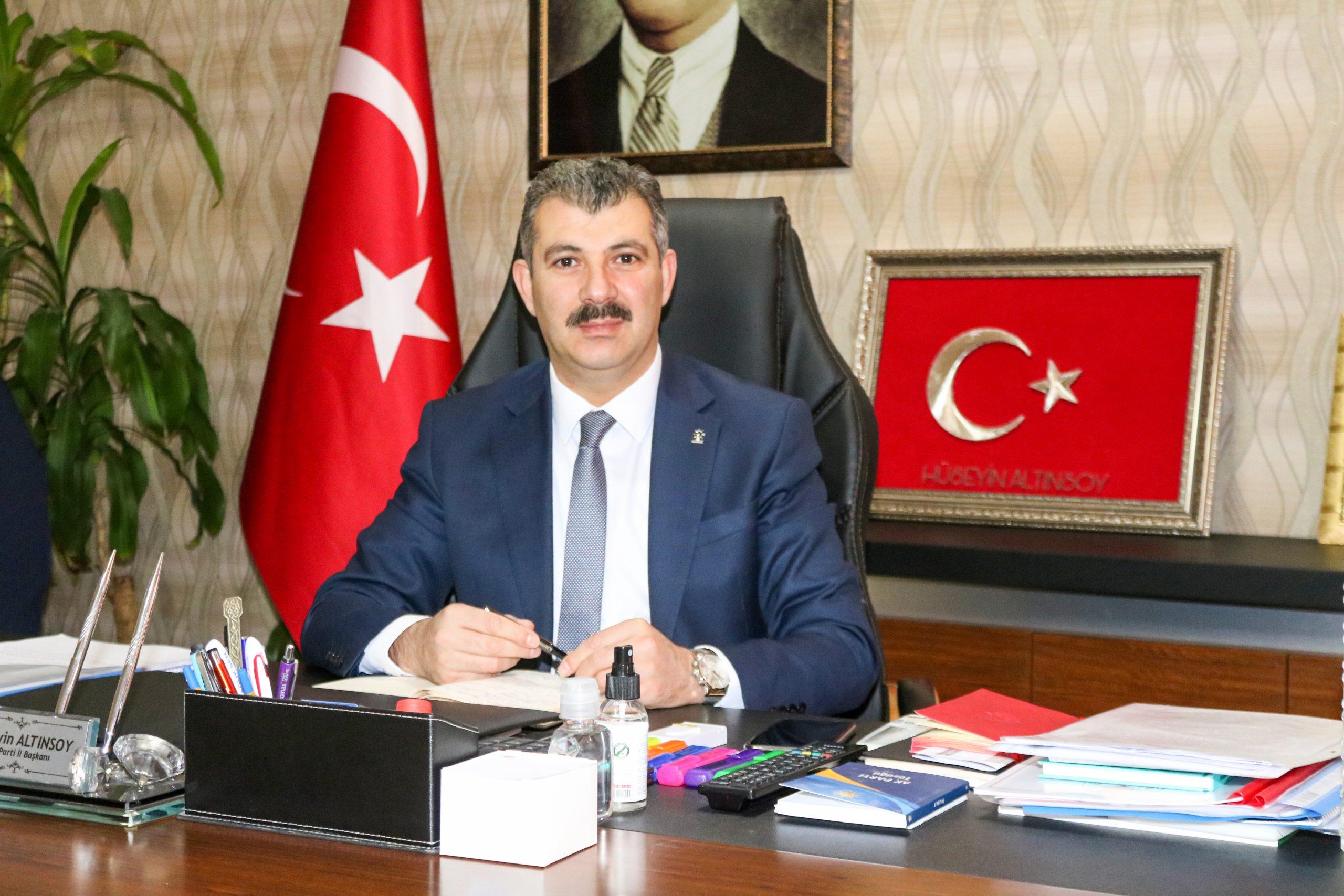 """BAŞKAN ALTINSOY, """"ENGELLERİ BİRLİKTE AŞACAĞIZ"""""""
