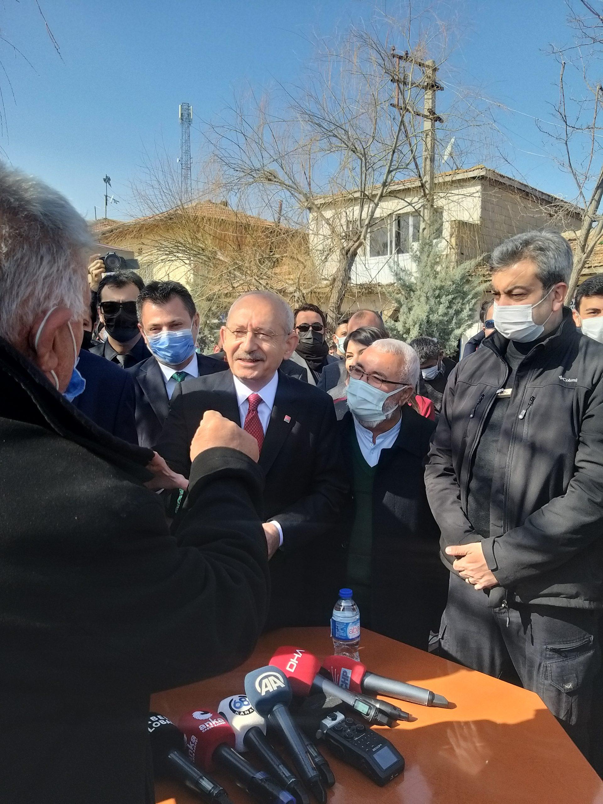CHP Genel Başkanı Kılıçtaroğlu Aksaray'da
