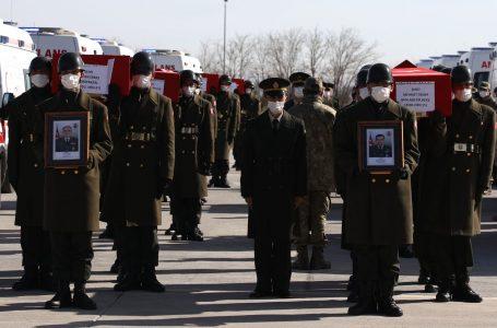 Helikopter Kazası Şehitlerimize Cenaze Töreni Düzenlendi