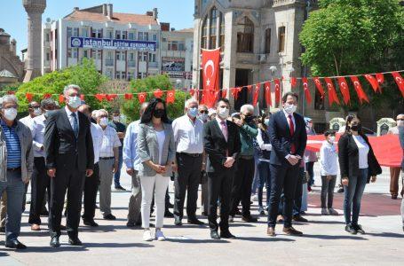 CHP Aksaray Teşkilatıda 19 Mayıs'ı Kutladı