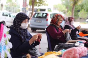 aksaray hanımeli pazarı